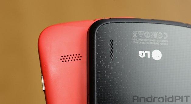 Moto G Nexus 4 auto falantes