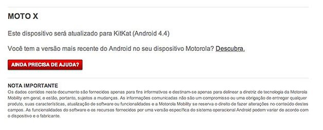 Motorola Android 4 4 Moto X