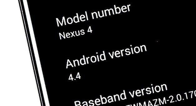 Nexus 4 atualizacao 4 4