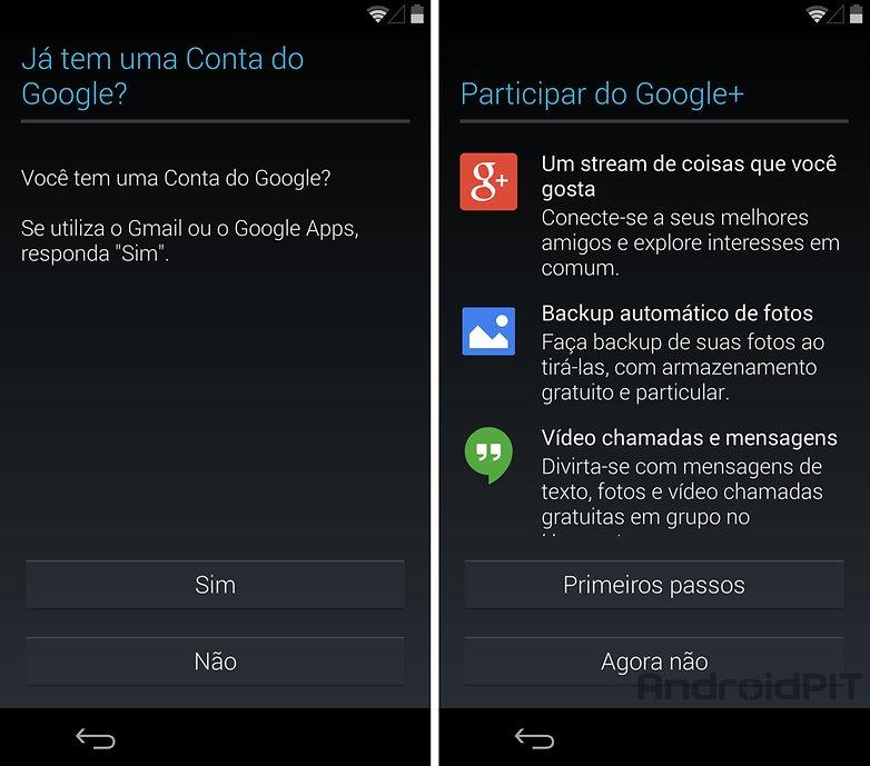 Nexus 5 configuracoes