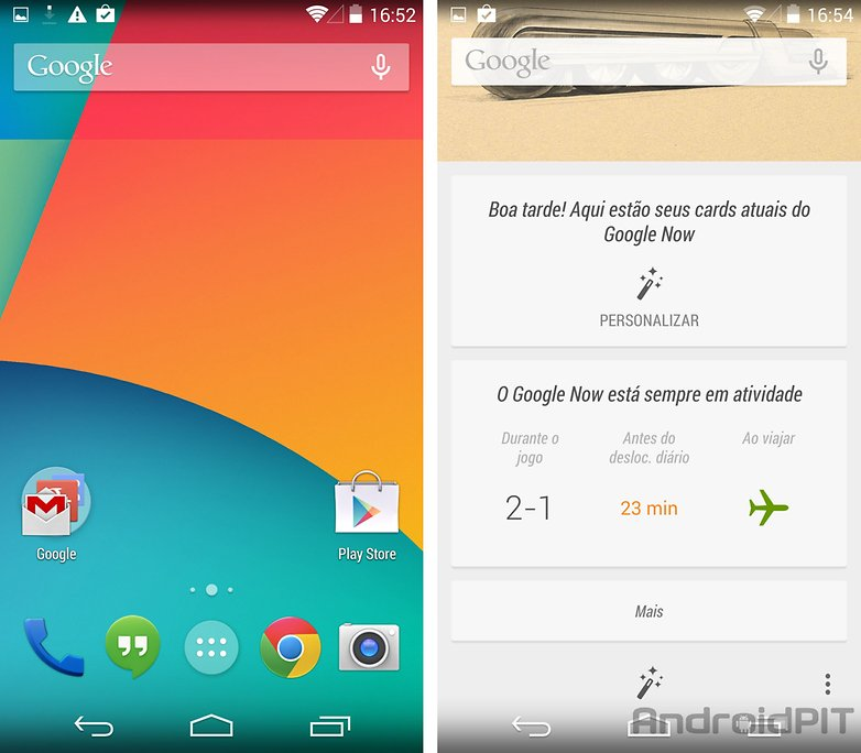 Nexus 5 pronto para uso