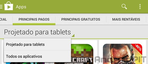 Play store tablets