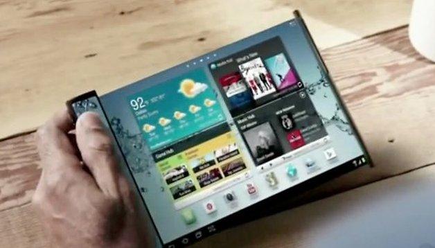 CEO da Samsung promete telas flexíveis para 2015