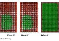 Galaxy S3 bate iPhone 5S e 5C em teste de precisão ao toque