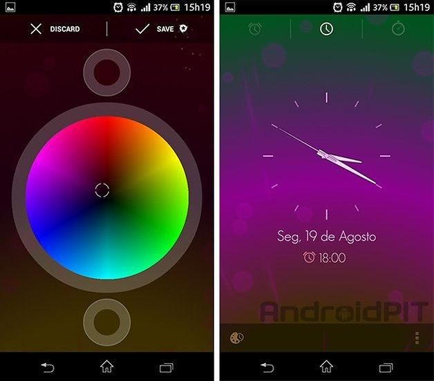 alarme android customizado