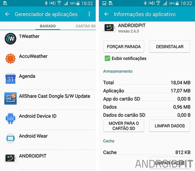apps galaxy s5 problemas solucoes
