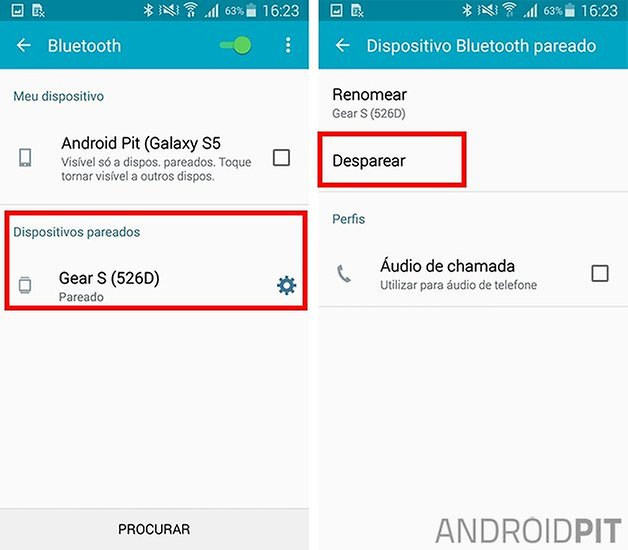 bluetooth galaxy s5 problemas solucoes
