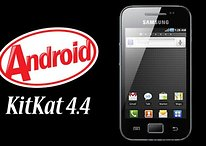 Android 4.4 para el Samsung Galaxy Ace, Mini, Fit y Gio