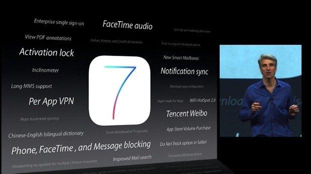 iOS 7 novos servicos