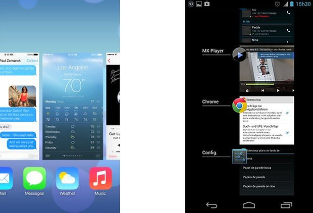 ios android multitask