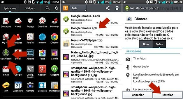 play store instalar apps