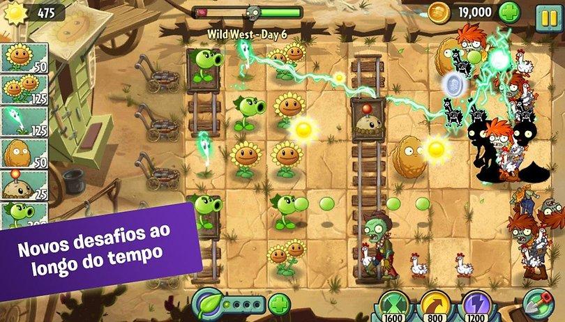 Plants vs. Zombies 2 e Dead Trigger 2 já estão disponíveis na Play Store