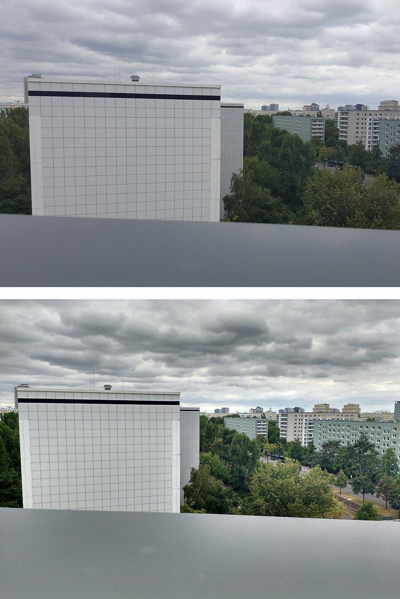 Smartphone x camera comparacao externo xy