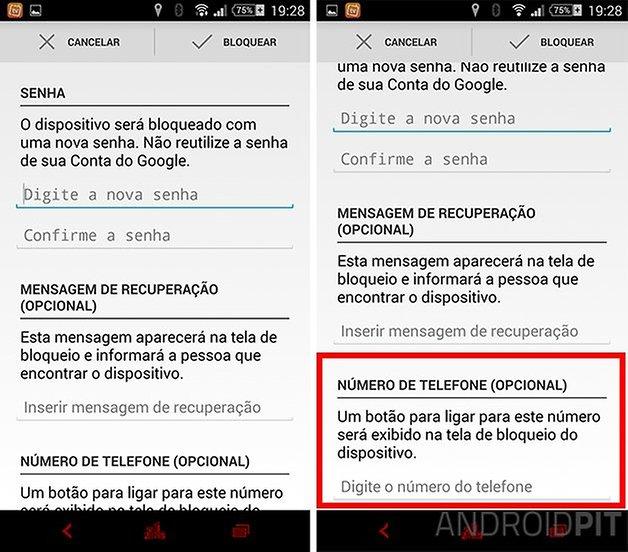 Gerenciador dispositivos android atualizacao