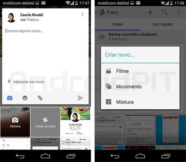Google Plus v4 4 atualizacao