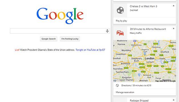 Google Now chegou para o Chrome beta... e o que isso significa?