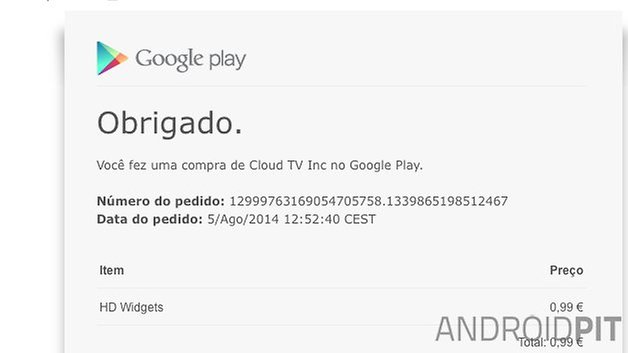 Google play store reembolso