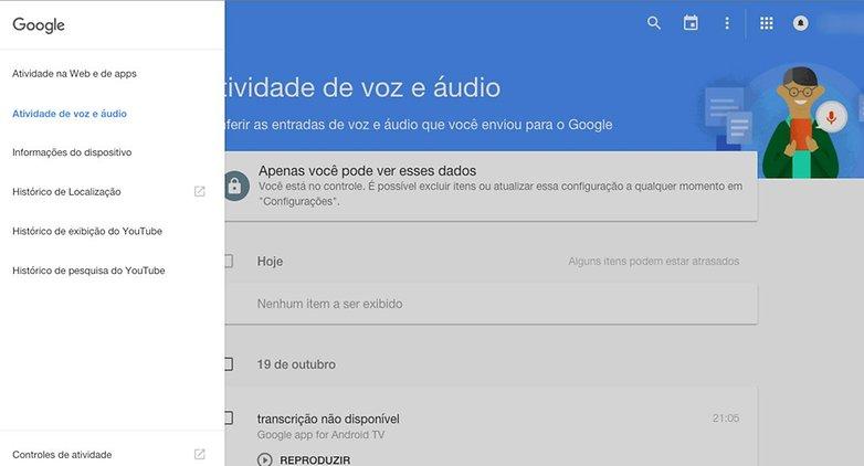 google backup buscas voz