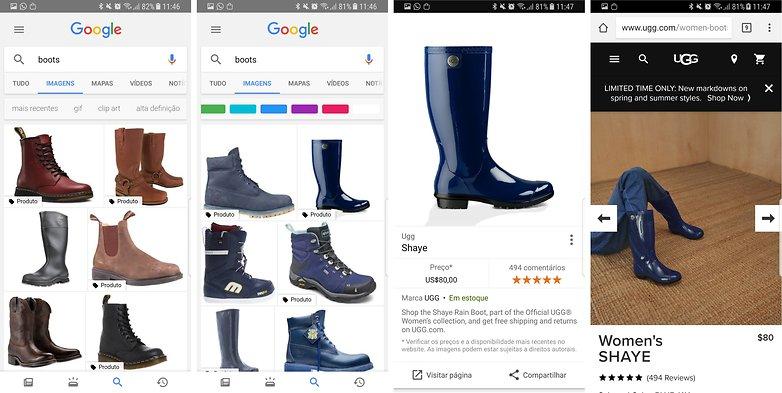 google image search update produto