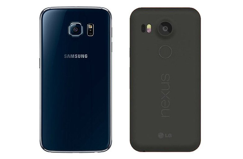gs6 nexus 5x comparacao
