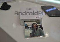 A impressora NFC da LG transforma seu smartphone em uma Polaroid