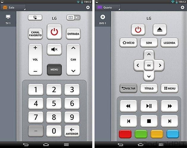 LG G Pad 83 controle