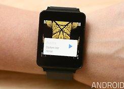 LG G Watch tocar musica