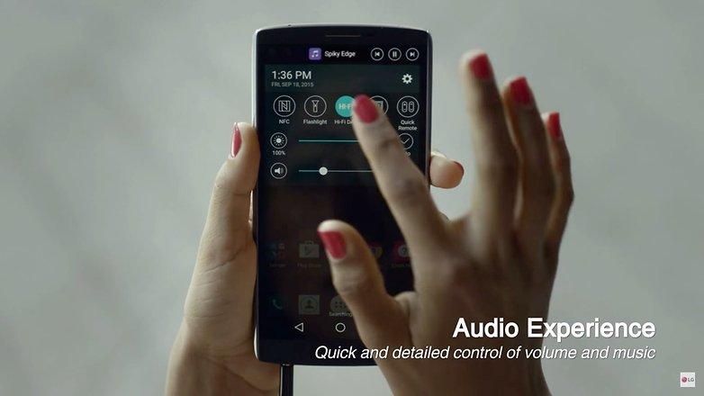 LG UX 4 0 plus LG v10 audio
