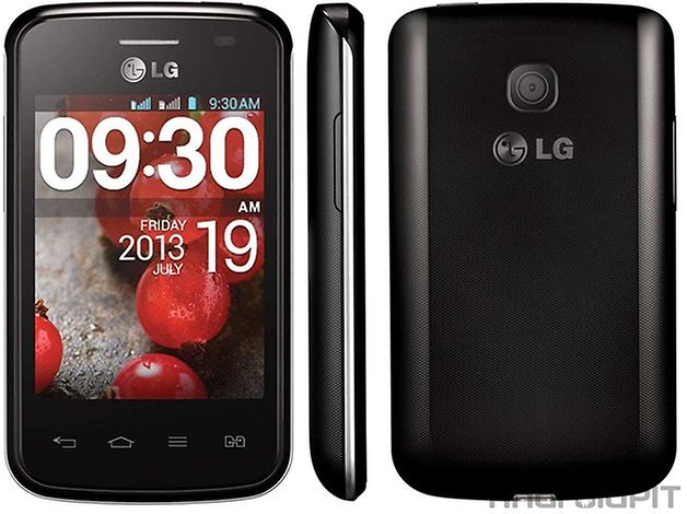 LG L1 II Tri comparacao