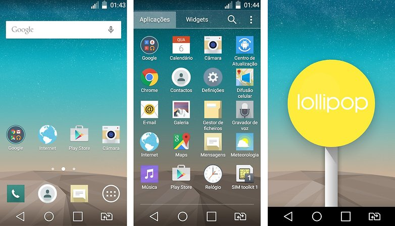 lg g prime atualizacao android