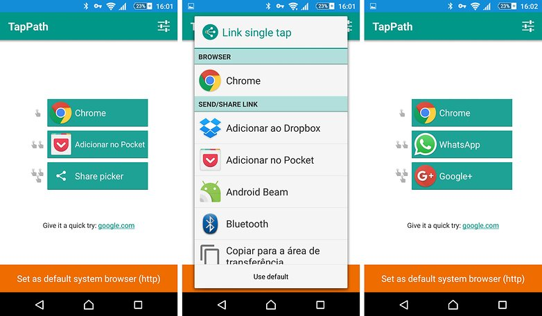 tappath marshmallow link app