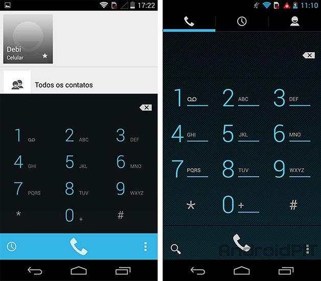 Moto G Android kitkat discador