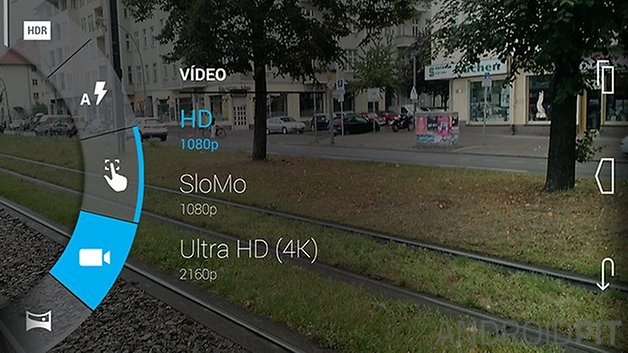 Moto x camera video