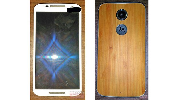 Moto X+1 front and back