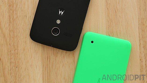 Motorola Moto G Nokia Lumia 630 alto falante