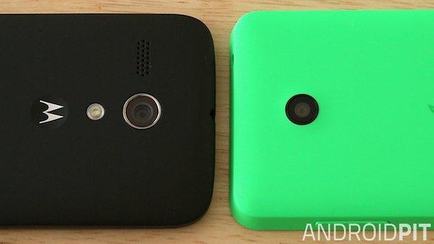 Motorola Moto G Nokia Lumia 630 camera