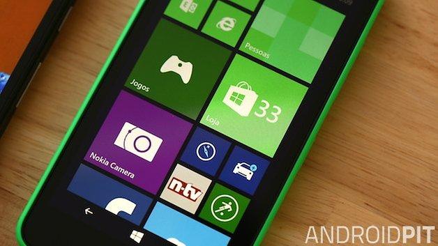 Motorola Moto G Nokia Lumia 630 tela
