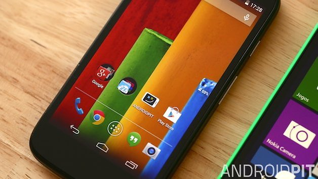 Motorola Moto G Nokia Lumia 630