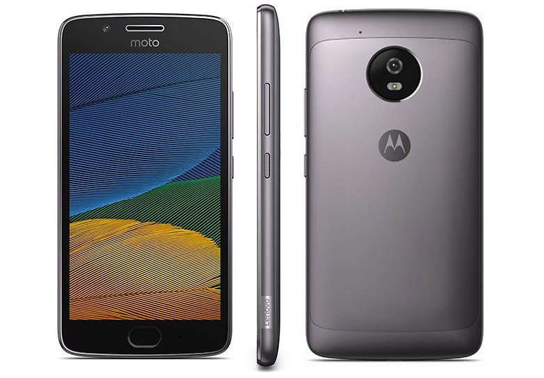 moto g5 plus design