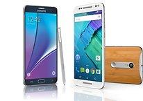 Moto X Style vs. Galaxy Note 5: dois excelentes phablets e um abismo de distância!