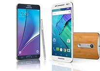 Moto X Style vs Galaxy Note 5: Dos excelentes phablets separados por un abismo de distancia