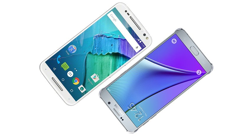 Moto X Style vs Galaxy Note 5 comparison