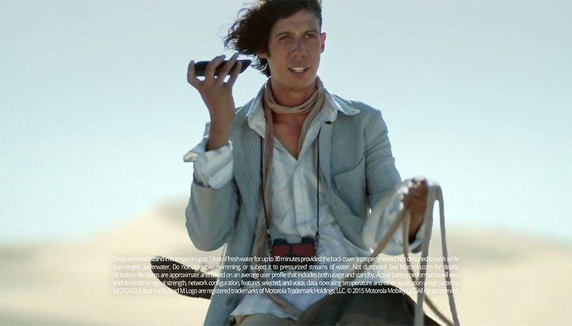 Desculpe Motorola, mas o novo comercial do Moto G 2015 é muito contraditório!