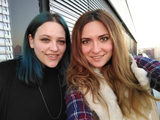 L'appareil photo frontal donne de jolies résultats pour les selfies.