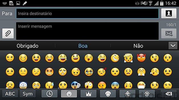 Note 3 kitkat teclado