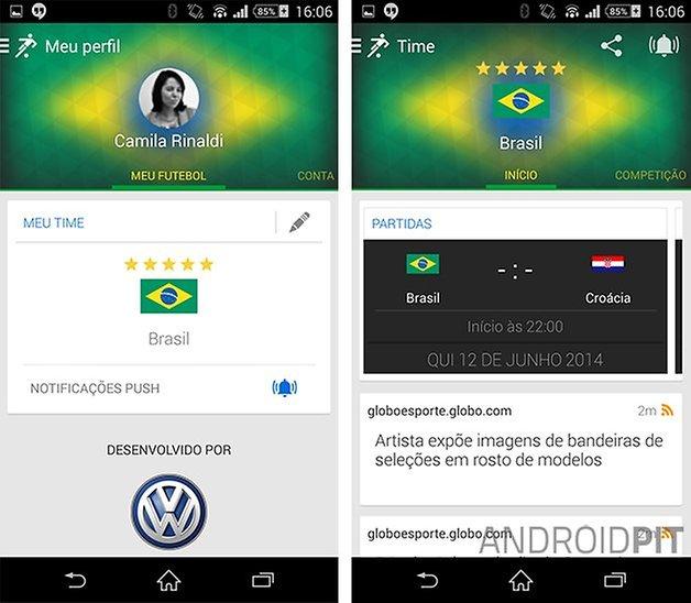 Onefootball Brasil app
