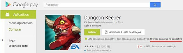 Play Store compras app