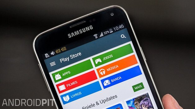 Play store atualizacao android l