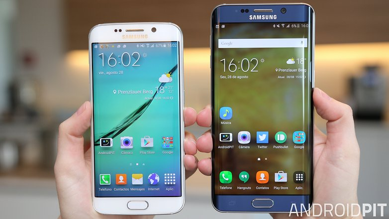 Galaxy s6 edge plus s6 edge comparacao
