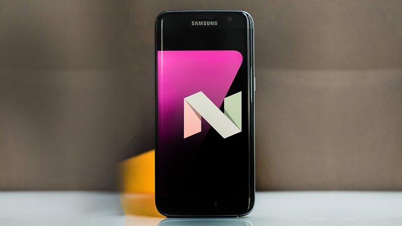 Samsung galaxy s7 edge nougat